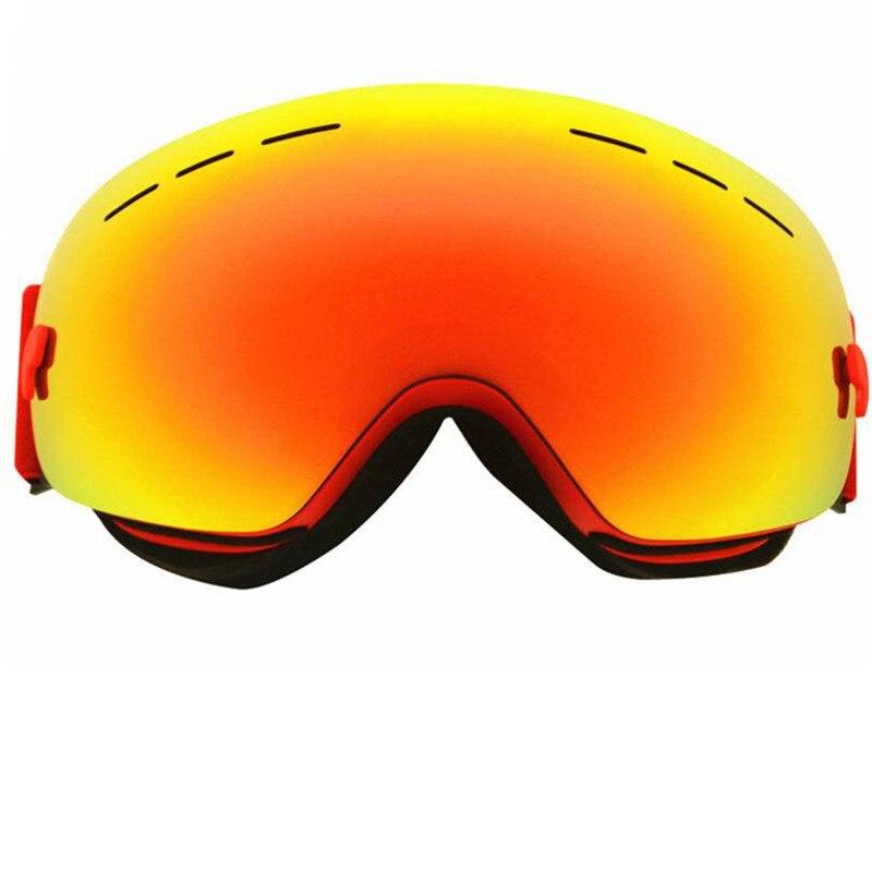Полный REVO покрытие плюс кадра 100% Италия импорт шт лыжные очки двухслойные близорукость снег очки Лыжный Спорт защиты Uv400 очки