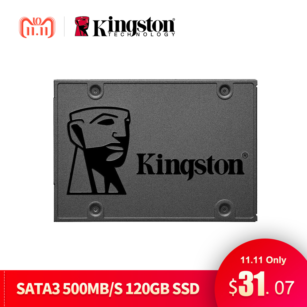 все цены на Kingston SSD A400 120GB 240GB 480GB Internal Solid State Drive 2.5 Inch Super Speed SATAIII For Notebook PC Loptop Hard Disk