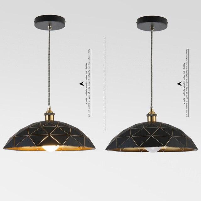 Lampe suspendue nordique en fer forgé lampe pendante créative pour la maison éclairage salon moderne Led lumières éclairage intérieur