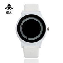 BGG Брендовые женские Роскошные творческих Женская Повседневная Часы кожа Бизнес кварцевые часы lasies платье наручные женские часы