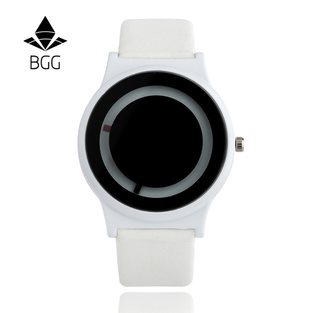 BGG brand women's Luxury Creative womens casual Watches leather Business Quartz
