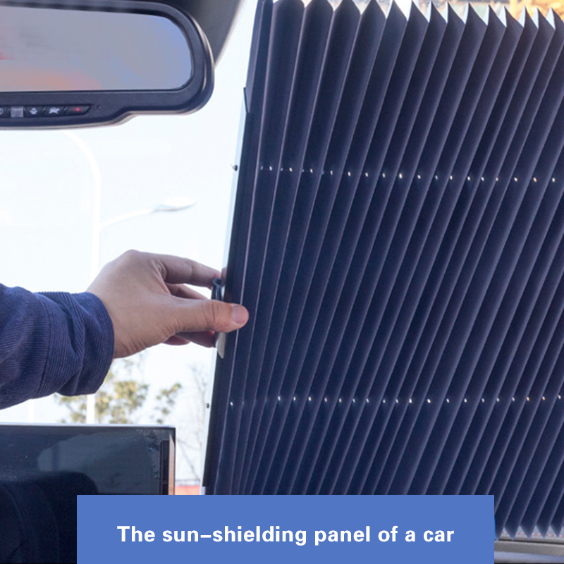 Upgrade Windshield Sun Shade Automatically Extends Window Cooling And Uv Protection Sun Visor Suitable For Car Suv Mpv Trucks