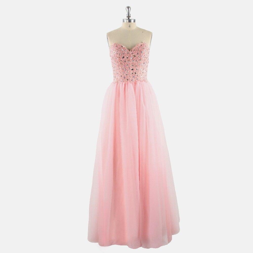 Pink Appliques Sleeveless A-line Chiffon   Prom     Dresses