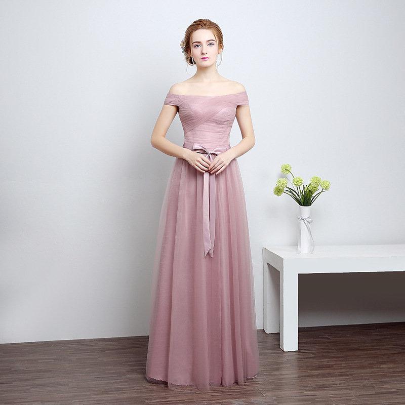 vivian\'s bridal 2018 four style two color bridesmaid dress ankle ...