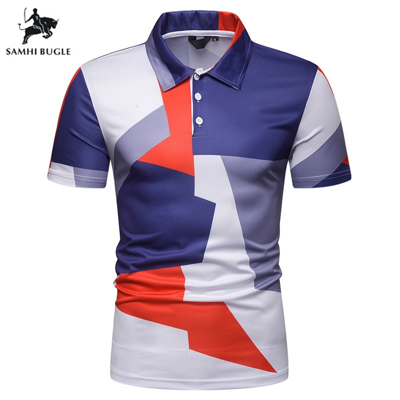 Summer Brand Man   Polo   Shirt Men Clothing Famous Camisa Masculina Mens Casual Sportswear Breathable   Polo   Homme