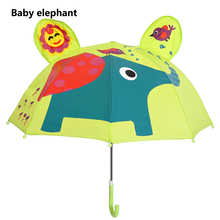 hot deal buy  baby elephant cartoon patterns umbrellas kids  kindergarten children paraguas parasol lovely boys girls umbrellla umbrellas-01