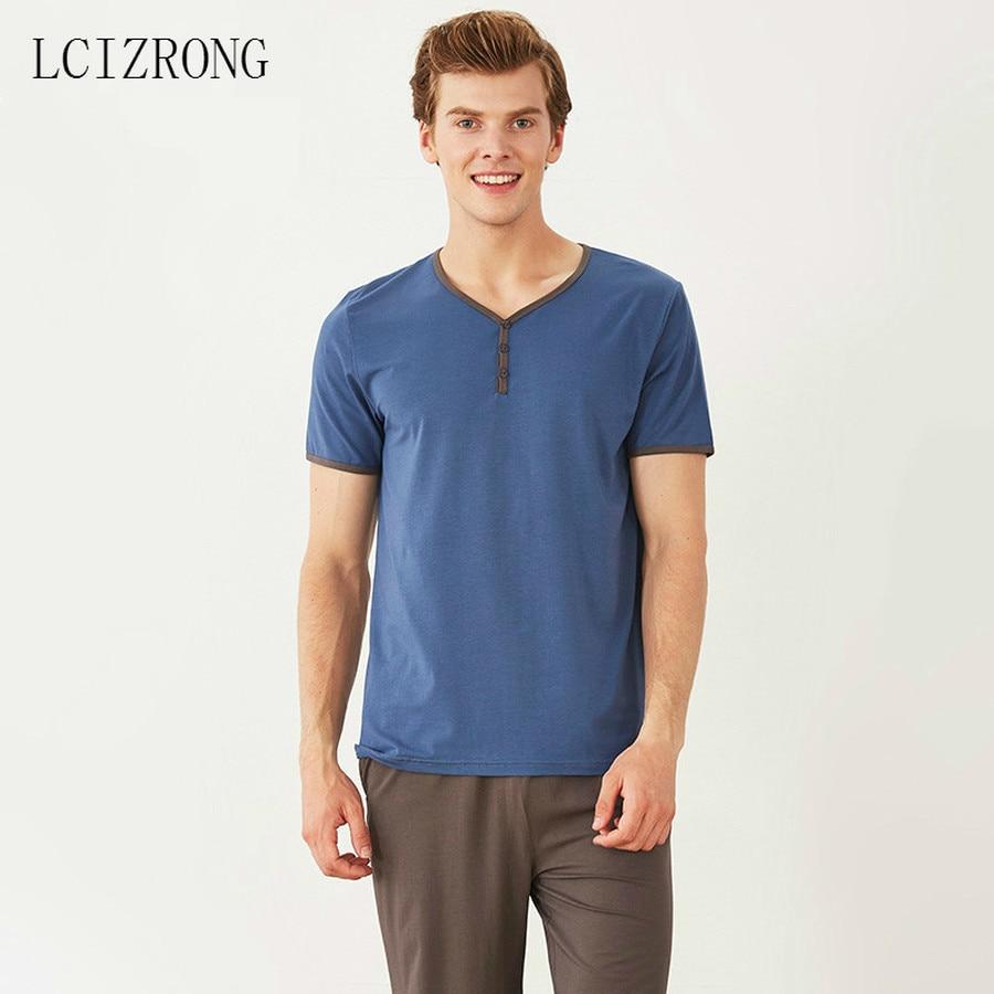 Nightwear Sleepwear-Sets Oversized Clothing Shorts Cotton Home Modal T-Shirt Classic