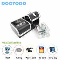 Doctodd GII CPAP CE FDA Anti ronflement CPAP respirateur ventilateur pour l'apnée du sommeil OSAHS OSAS ronflement personnes avec pièces 4 GB carte SD