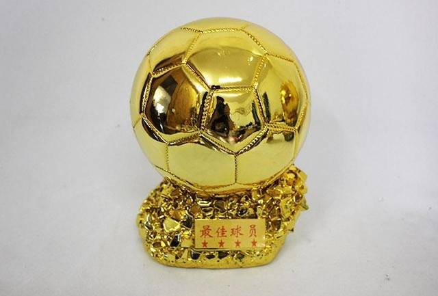 mvp free sticker 21cm 2014 ballon dor trophy for sale resin best