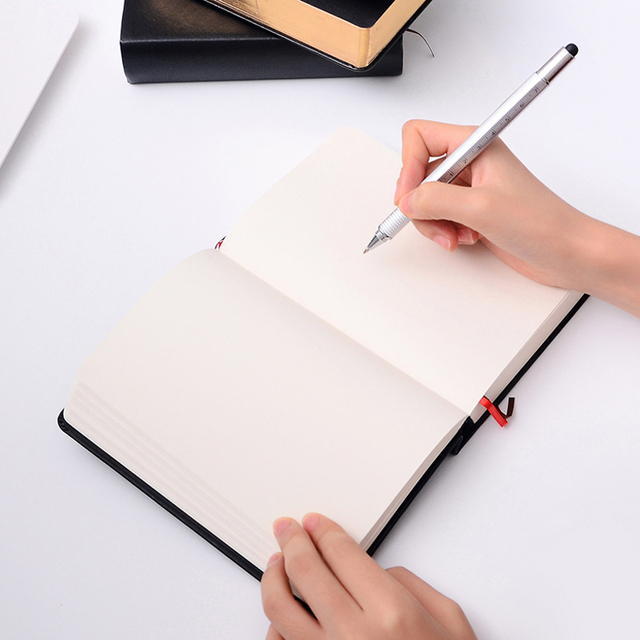 Retro Leather Notebook Thick Paper Bible Diary Book Notepad New Blank Weekly Plan Writing Notebooks Office