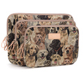 Padrão Dog Fashion Laptop Sleeve Case 10,11, 12,13, 14,15 polegada bolsa de computador, Para notebook, Para ipad, Tablet, Para MacBook
