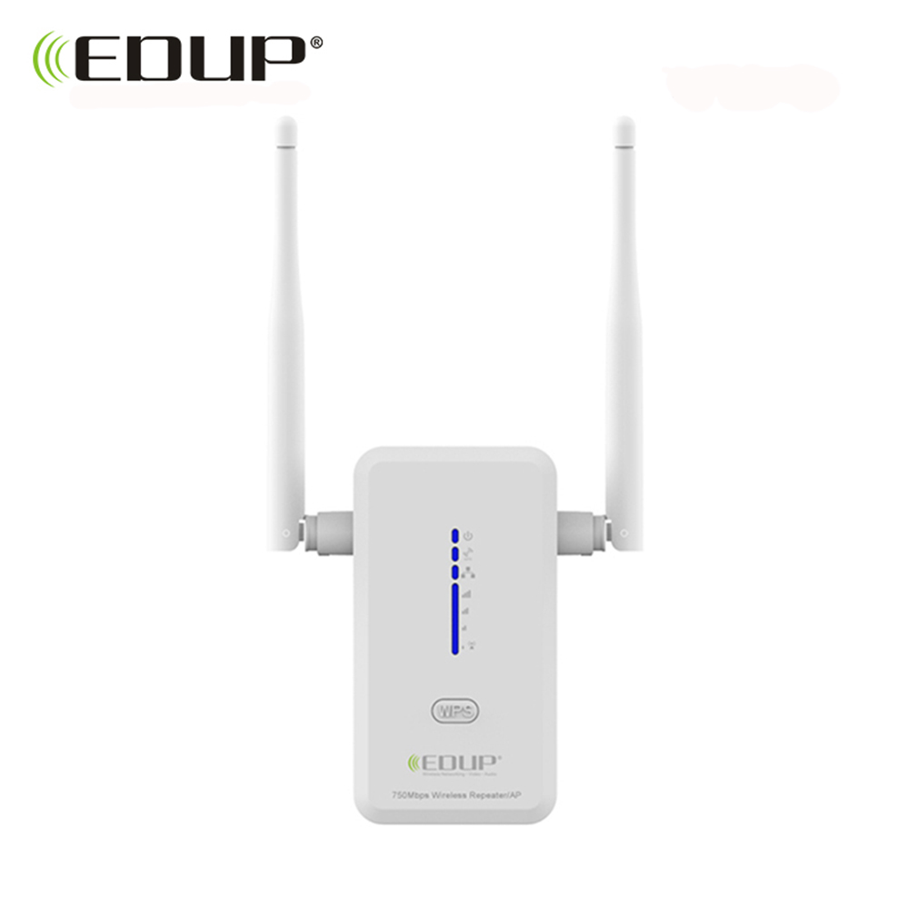 EDUP 5ghz wifi repeater wireless 750mbps 802 11ac wifi range extender Dual Band 2 4 5ghz