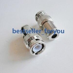 1 шт. BNC паяльный разъем с мужским зажимом для фотокабеля RG58 RG142 RG400 RG223