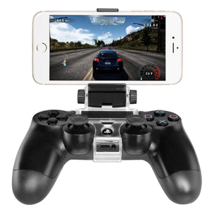 Image 2 - For PS4 Accessories Clip Clamp Stand Bracket for PlayStation 4/Slim/Pro Dualshock 4 Controller Holder Joystick Mount
