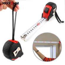 2m/3m/5m/7.5m Tape Measures Ruler Retractable Measuring Measure Rubberized Metric Rule