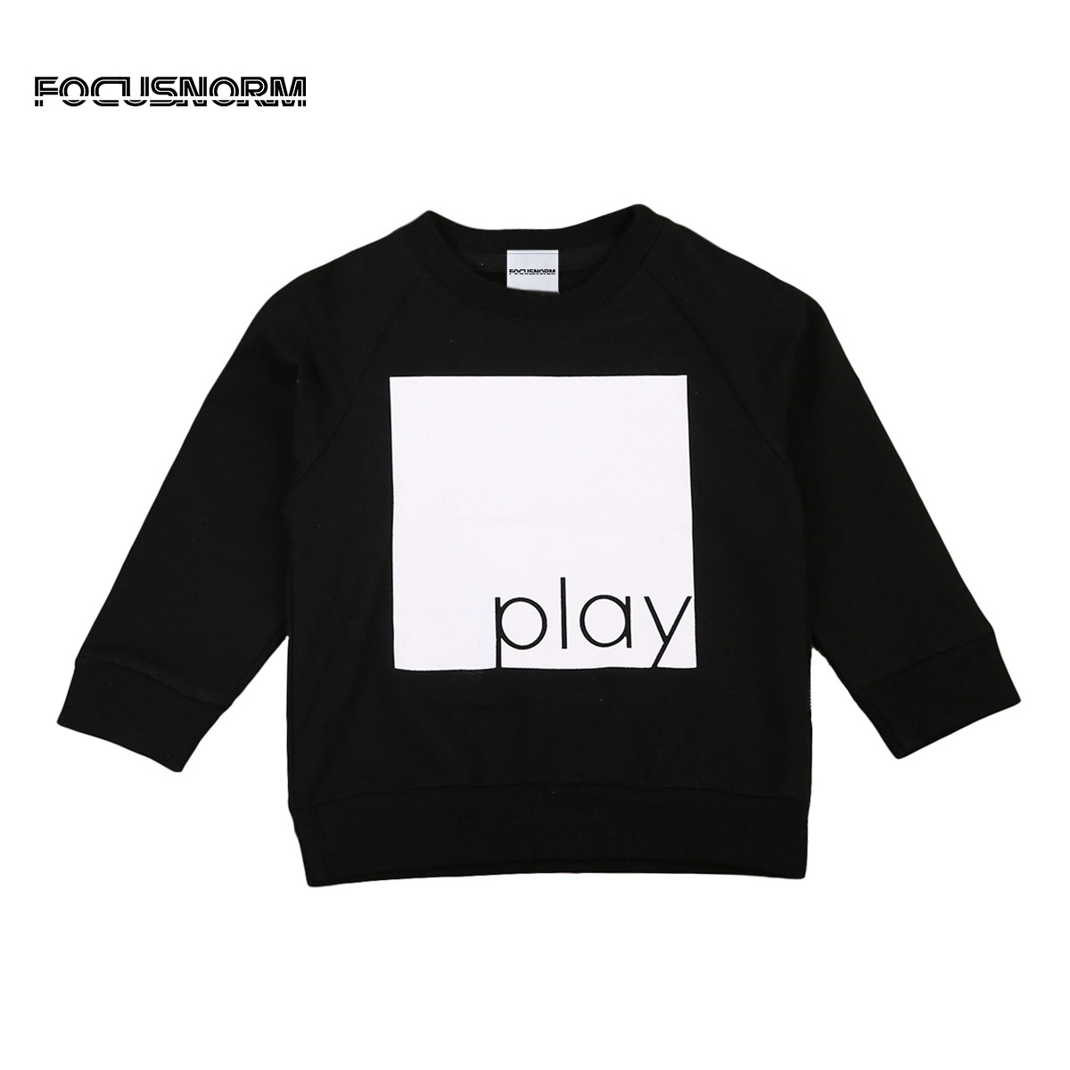 4 Styles Toddler Simple Sweatshirt Hoodies Tops Kids Boy Jumpers Long Sleeve Crew Neck Autumn Winter Warm Pullover