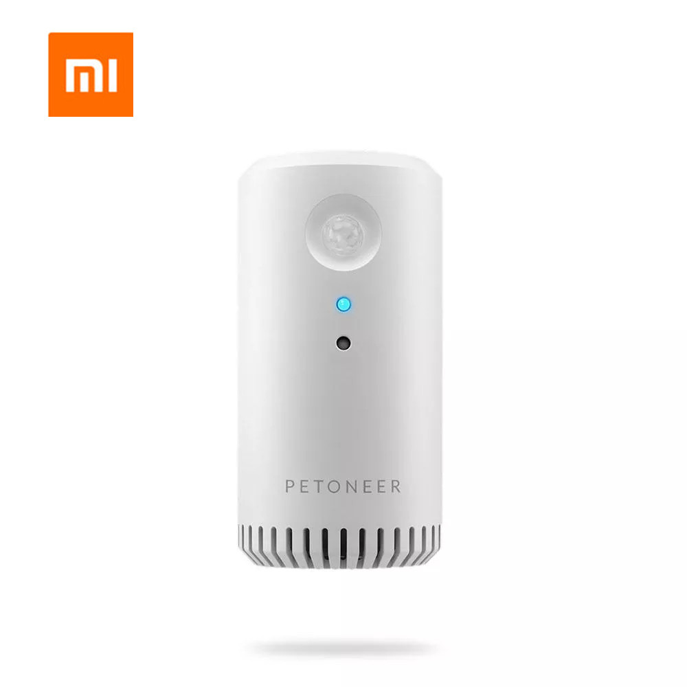 Xiaomi Petoneer Pet Sterilization Deodorizer Odorless Device Air Purifier Infrared Timing Dual Mode USB Charging For Dogs & Cats