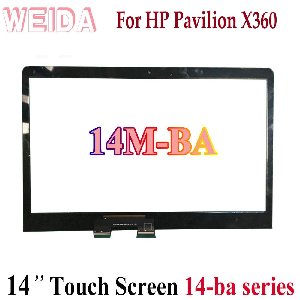 """WEIDA tactile numériseur remplacement pour HP pavillon X360 14M-BA 14-ba série 14 """"écran tactile"""