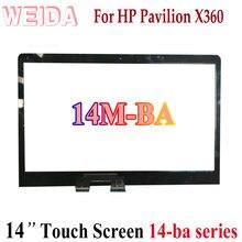 Сменный сенсорный дигитайзер weida для hp pavilion x360 14m