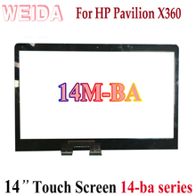 WEIDA Touch Digitizer Replacement For HP PAVILION X360 14M-BA 14-ba Series 14