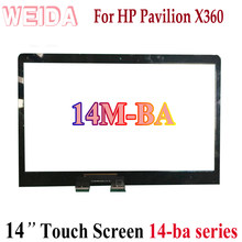 "WEIDA Touch Digitizer Replacement For HP PAVILION X360 14M-BA 14-ba Series 14"" Touch Screen Panel(China)"