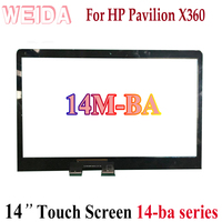 WEIDA Touch Digitizer Replacement For HP PAVILION X360 14M BA 14 ba Series 14 Touch Screen Panel