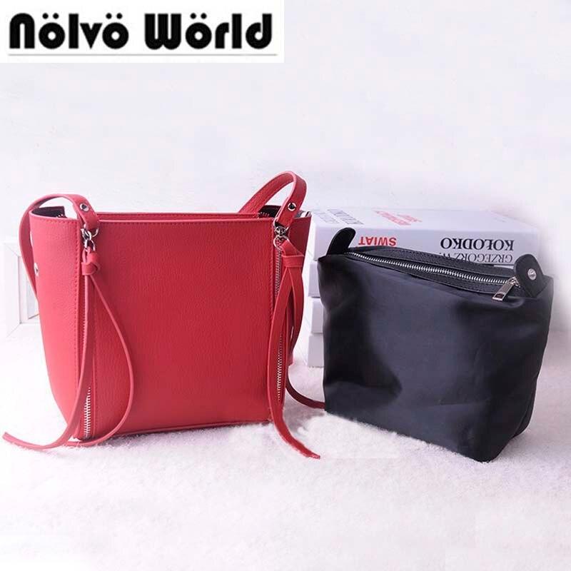 5 цветов 2018 г. новая женская сумка модные сумки, 4 Длинные молнии  ползунок соединение сумка дешевый женщины маленькая сумочка 38ae0bf1861