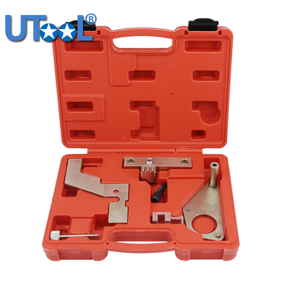 Engine Camshaft Timing Locking Tool Kit For Land rover Evoque 2.0T Range Rover SI4 Evoque Crank Cam Flywheel engine camshaft locking setting timing tool kit for land rover jaguar 3 2 3 5 4 0 4 2 4 4 v8 st0232