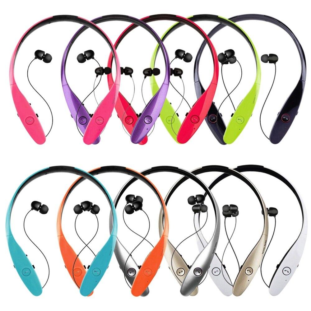 bilder für Hbs-900 drahtlose bluetooth neckband stil headset sport stereo kopfhörer in-ear-ohrhörer kopfhörer für iphone hbs 900 in-ohr
