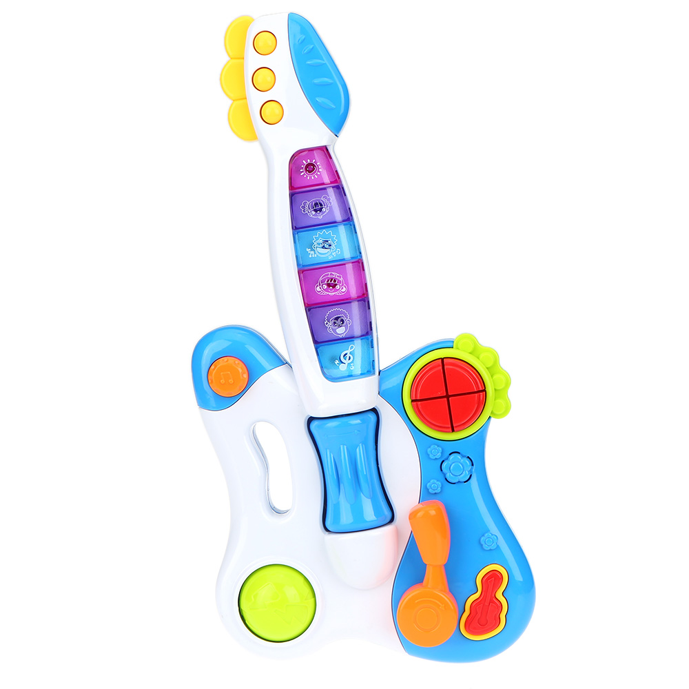 Baby Toys Guitar Musical Toy Guitar With Flashing Lights
