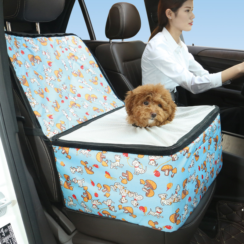 New Pet Car Seat Cover Waterproof Puppy Basket Bag Carrier Dog Cat Booster Outdoor Travel Protector