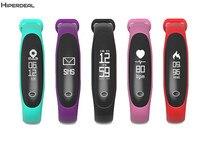 HIPERDEAL E26 IPX67 Waterproof Heart Rate Band Monitor Social Media Notification Wristband Bracelet Wrist Smart Band