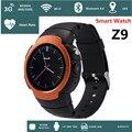 Android 5.1 bluetooth 4.0 smart watch z9 telefone 360*360 tela cheia suporte mapa do google gps de voz 3g wi-fi gps relógio de esportes ao ar livre