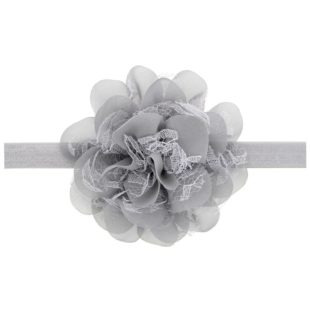 Baby Accessories Flower Hair Stuff Lace Children Headwear Headband For Girls Infant Gift Baby Stuff Hair For New Born Baby Gift
