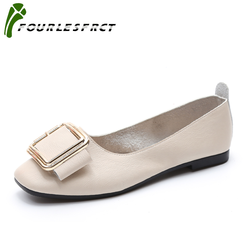 2017 Women Shoes Flat New Leather Platform Shoes White Apricot Beige Women Pointed Toe Leather Girl Shoes 35-40 Soft bottom clamshell qfp144 lqfp144 tqfp144 su h8s2505 tq144 programmer adapter for lp programmer