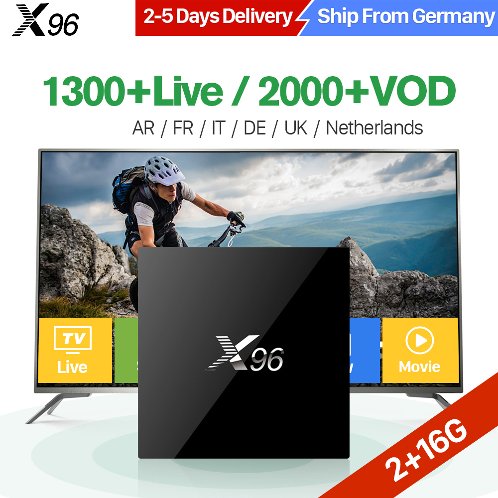 X96 IPTV France Android TV Box Amlogic S905X Quad Core WIFI with QHDTV 1 Year Subscription IPTV Belgium France Arabic Dutch IPTV цена 2017
