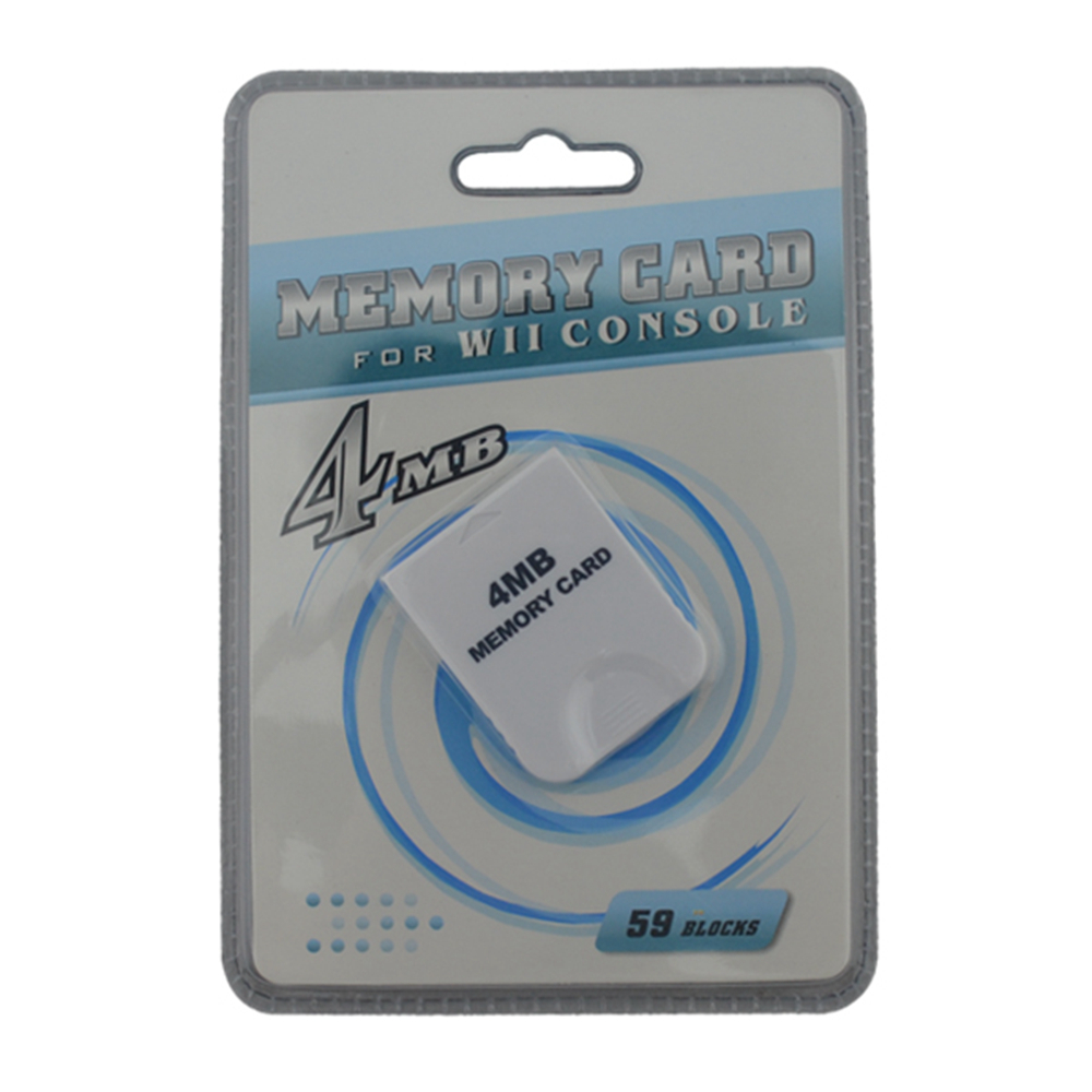 Top-selling Practical Game 4MB Memory Card for Nintendo for Wii Gamecube GC Game System Console game save image