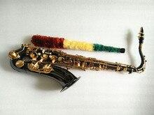 Tenor Saxophone B Musical Instrument Sax Black Nickel plated Gold kay saxophone accessories Professional Saxophone Tenor