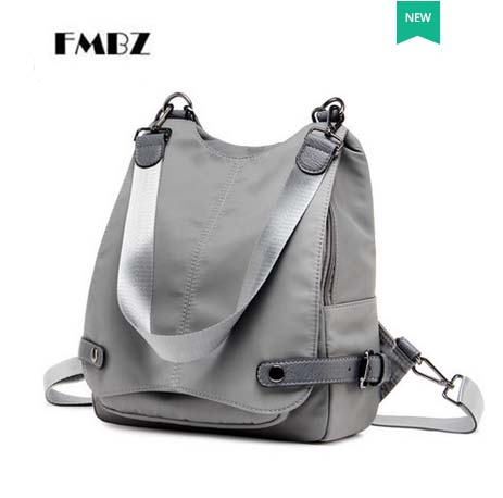 FMBZ 2018 New Woman Bag Casual Lady Backpack Trendy Multi-Function High Capacity Student Backpack Travel Backpack Free Shipping цена 2017