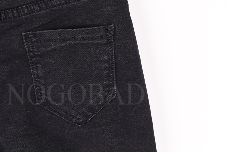80daf89c0ab 2019 2018 Spring Black Skinny Jeans For Women Slim Stretch Denim ...