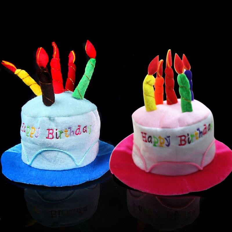 Baru Kue Ulang Tahun Lilin Topi Lucu Mainan Pendek Mewah Dewasa Pesta Taman Hiburan Perlengkapan Melakukan Dress Alat Peraga Cap Fj88 Mainan Lucu Topi Lucumainan Lucu Aliexpress