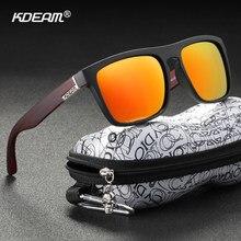 Kdeam óculos de sol polarizado, óculos de sol unissex polarizado, alta moda, proteção uv, para direção noturna, fotocromático