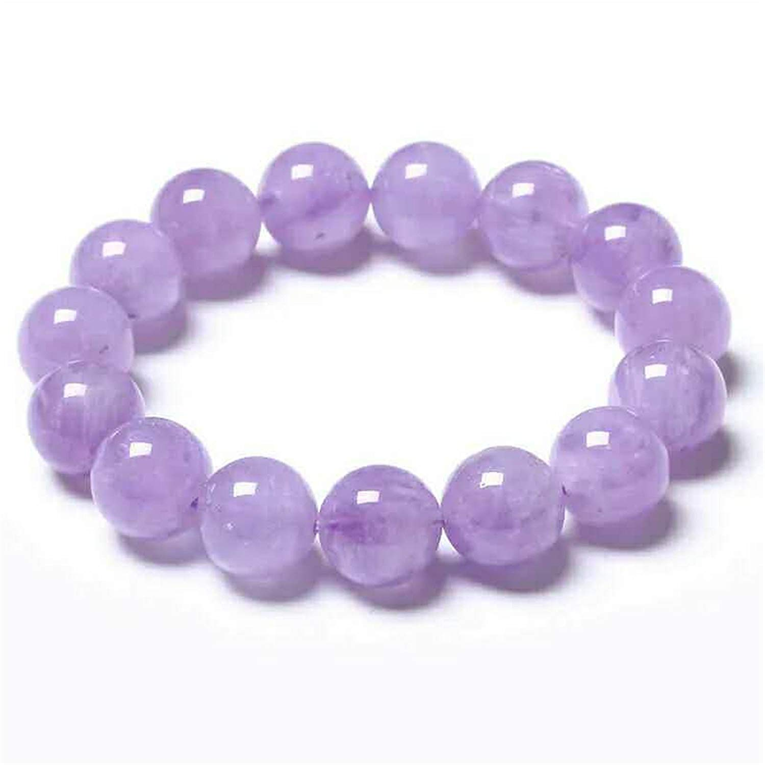 14mm Natural Amethyst Quartz Bracelet for Women Purple Crystal Stretch Round Beads Bracelet AAAA14mm Natural Amethyst Quartz Bracelet for Women Purple Crystal Stretch Round Beads Bracelet AAAA