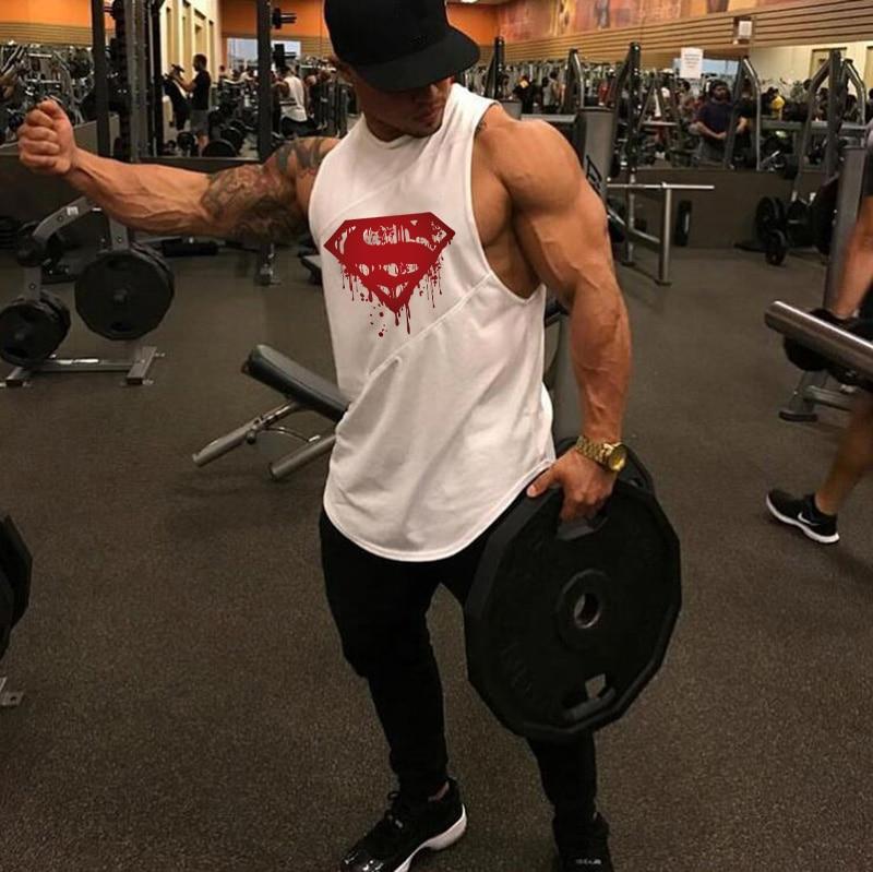running - Men's Quick Dry Tank Tops Running Vest Fitness Sleeveless Undershirts Male Gym Tank Top Men Loose Sport Vest Plus Size
