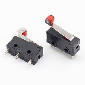Image 3 - 10 Pcs MINI สวิตช์ LIMIT Micro Roller Lever ARM SPDT Snap Action LOT