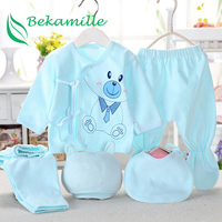 Good Quality 5pcs Set Newborn Baby Underwear Suits Belt Baby Fashion Colors Polka Dot Underwear Sets