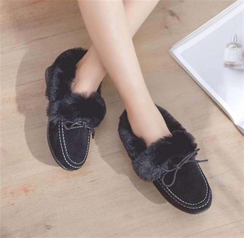 Picture Hiver picture Bottes Chaussures picture Dames Plus Velours Plat Cheville De Pour Femmes Neige qPwFI77