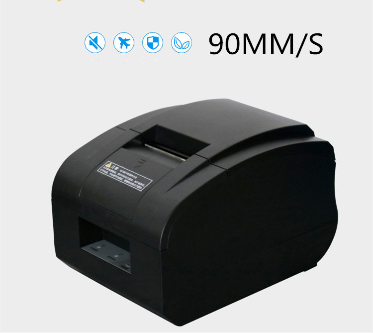 wholesale 2017new high quality 58mm thermal Small ticket  receipt printer automatic cutting printing USB port or Ethernet port-in Printers from Computer & Office    1