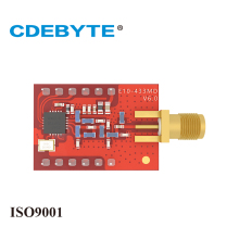CDEBYTE 2PCS/Lot E10-433MD-SMA 433MHz SI4463 Wireless SPI Module 2000m Replace Bluetooth Module 2pcs lot cdebyte e18 ms1 ipx spi smd 2 4ghz cc2530 wireless zigbee smart home automation module