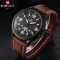 NAVIFORCE Роскошные Лучший Бренд мужской Спортивные Часы Мода Повседневная Кварцевые Часы Мужчины Военный Наручные Часы Мужчины Relogio Masculino